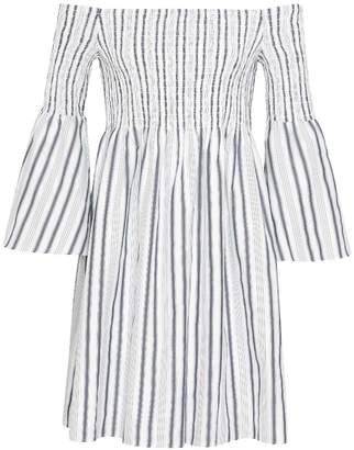 Sam Edelman Off The Shoulder Stripe Dress