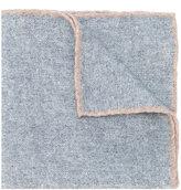 Eleventy contrast seam scarf - men - Wool - One Size