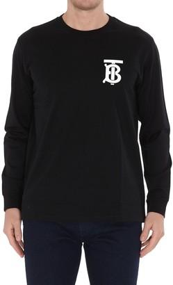 Burberry Monogram Motif Long-Sleeve T-Shirt