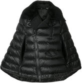 Moncler quilted cape jacket