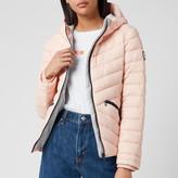 Superdry Women's Long Sleeved Essentials Sleeved Helio Padded Jacket