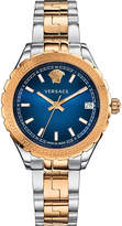 Versace V12060017 Hellenyium stainless steel and gold watch