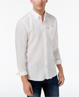 Barbour Linen-Blend Button-Down Shirt