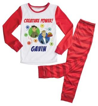 Wild Kratts Creature Power Red Kids Pajamas Set