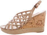 Prada Sport Multistrap Wedge Sandals