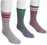 Muk Luks Men's Striped Socks