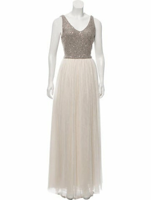 Brunello Cucinelli Embellished Evening Dress w/ Tags