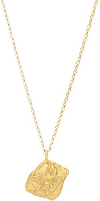 Alighieri Collier Year of the Tiger 24kt gold-plated necklace