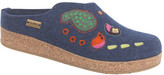 Haflinger Women's Paisley Grizzly Clog