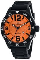 Oceanaut Aqua One OC2712 Men's Round Black Silicone Watch