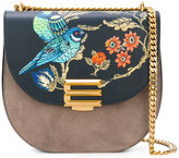 Etro printed crossbody bag - women - Calf Leather - One Size