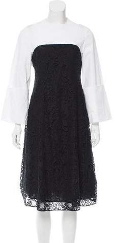 Creatures of the Wind Guipure Lace Midi Dress