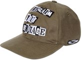 Valentino Punk Poem Cotton Twill Hat