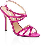 Oscar de la Renta Pink Hudson Strappy Heel