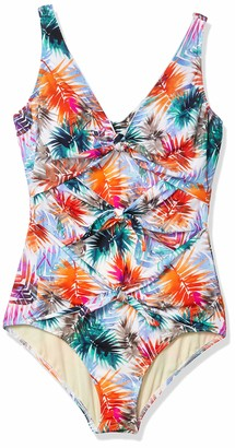 Fit 4 U Women's 3 Tie Tank-All Print