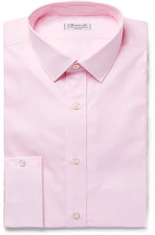Charvet Pink Cotton Shirt