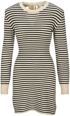 Philosophy di Lorenzo Serafini Striped Knit Dress