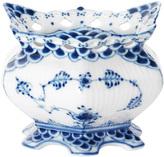Royal Copenhagen Fluted Full Lace Porcelain Sugar Bowl