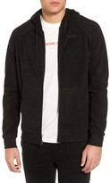 RVCA Men's Slider Zip Through Fleece Hoodie