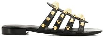 Balenciaga Studded Flat Sandals