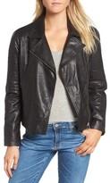 BB Dakota Women's Harwick Leather Moto Jacket