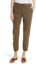Rebecca Taylor Women's Crop Twill Utility Pants