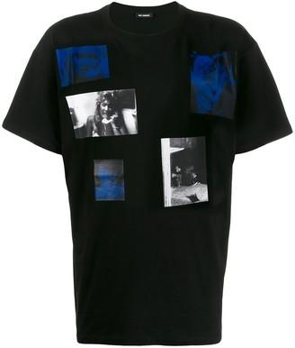 Raf Simons Blue Velvet print T-shirt