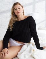 aerie Crop Sweater