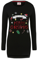 George Sequinned Christmas Tunic