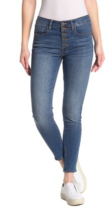 Vigoss Ace High Rise Button Fly Skinny Jeans