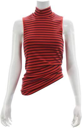 Splendid Red Cotton Top for Women