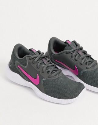 Nike Running Flex Experience 9 trainers in dark grey