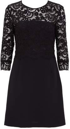 Claudie Pierlot Lace-Trim Dress