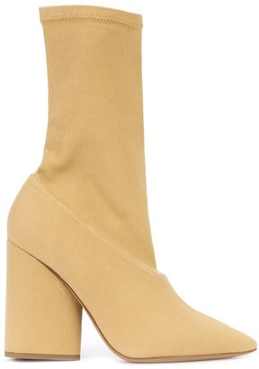 Yeezy Pointed Toe Boots