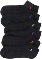 Polo Ralph Lauren Ralph Lauren Blue Label RL Sport Ped Sock - 6 Pair Pack /