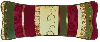 C&F Home Holiday Treasures Pieced Decorative Accent Throw Pillow