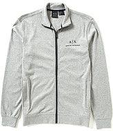 Armani Exchange Full-Zip Long-Sleeve Mockneck
