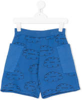 Bobo Choses clouds print shorts