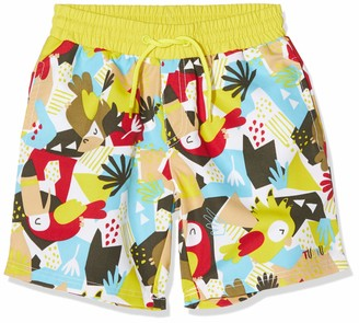 Tuc Tuc RED Printed Swimming Trunks for BOY Tropical Jungle