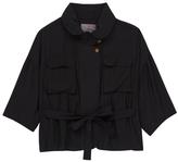 Melissa McCarthy Black Utility Jacket - Plus