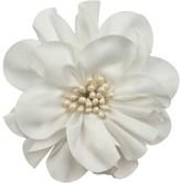 La Stéphanoise La Stephanoise Medium Fabric Flower, White