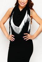 David & Young Electric Fringe Scarf