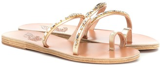 Ancient Greek Sandals Apli Katia leather sandals