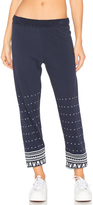 Lauren Moshi Gia Long Sweatpant