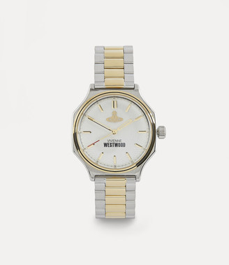 Vivienne Westwood Mile End Watch Silver/Gold