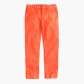 J.Crew Boys' garment-dyed stretch skinny chino