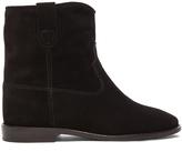 Etoile Isabel Marant Crisi Calfskin Velvet Boots