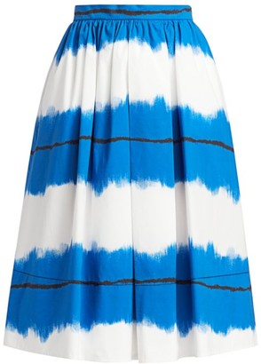 Piazza Sempione Pictoral Stripe Skirt