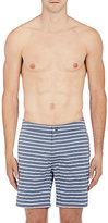 Onia Men's Calder Swim Trunks-WHITE, GREY
