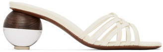 Neous Off-White Calpa 55 Heeled Sandals